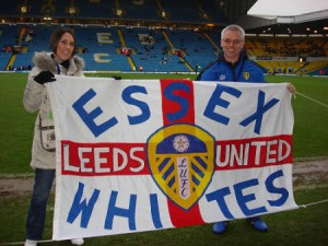 Presentation on the pitch at Elland Road. Dec 2008